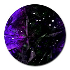 Abstract design Round Mousepads