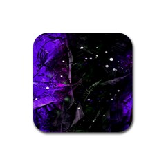 Abstract design Rubber Square Coaster (4 pack)