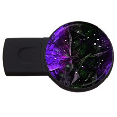 Abstract design USB Flash Drive Round (1 GB)