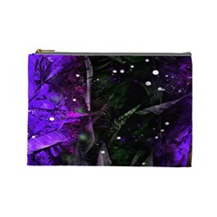 Abstract design Cosmetic Bag (Large)