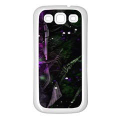 Abstract design Samsung Galaxy S3 Back Case (White)