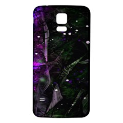 Abstract design Samsung Galaxy S5 Back Case (White)