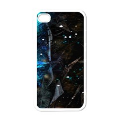 Abstract design Apple iPhone 4 Case (White)