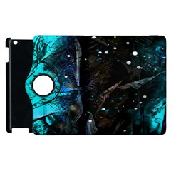 Abstract design Apple iPad 3/4 Flip 360 Case