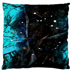 Abstract design Large Flano Cushion Case (Two Sides)