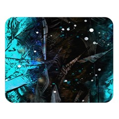 Abstract design Double Sided Flano Blanket (Large)
