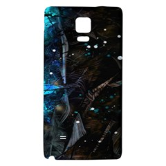 Abstract design Galaxy Note 4 Back Case