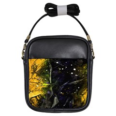 Abstract design Girls Sling Bags