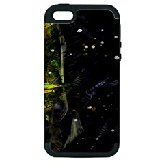 Abstract design Apple iPhone 5 Hardshell Case (PC+Silicone)