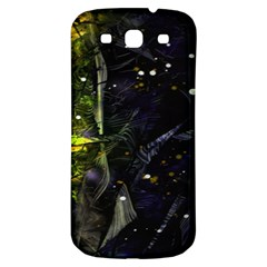 Abstract design Samsung Galaxy S3 S III Classic Hardshell Back Case