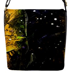Abstract design Flap Messenger Bag (S)