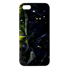 Abstract design iPhone 5S/ SE Premium Hardshell Case