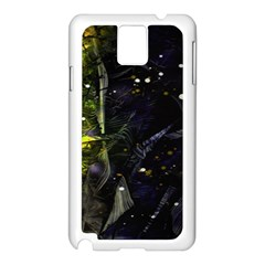 Abstract design Samsung Galaxy Note 3 N9005 Case (White)