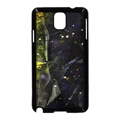 Abstract design Samsung Galaxy Note 3 Neo Hardshell Case (Black)