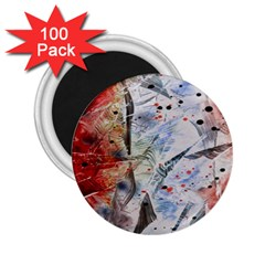 Abstract design 2.25  Magnets (100 pack)