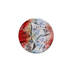 Abstract design Golf Ball Marker