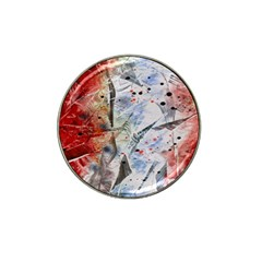 Abstract design Hat Clip Ball Marker (10 pack)