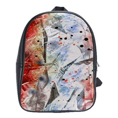 Abstract design School Bags(Large)