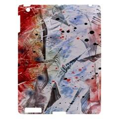 Abstract design Apple iPad 3/4 Hardshell Case