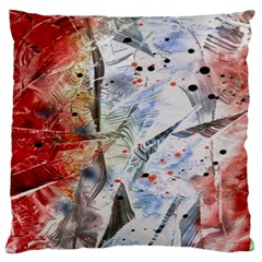 Abstract design Large Cushion Case (Two Sides)