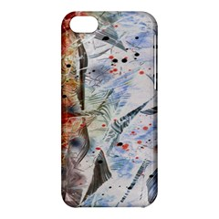 Abstract design Apple iPhone 5C Hardshell Case