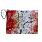 Abstract design Canvas Cosmetic Bag (XL) Front