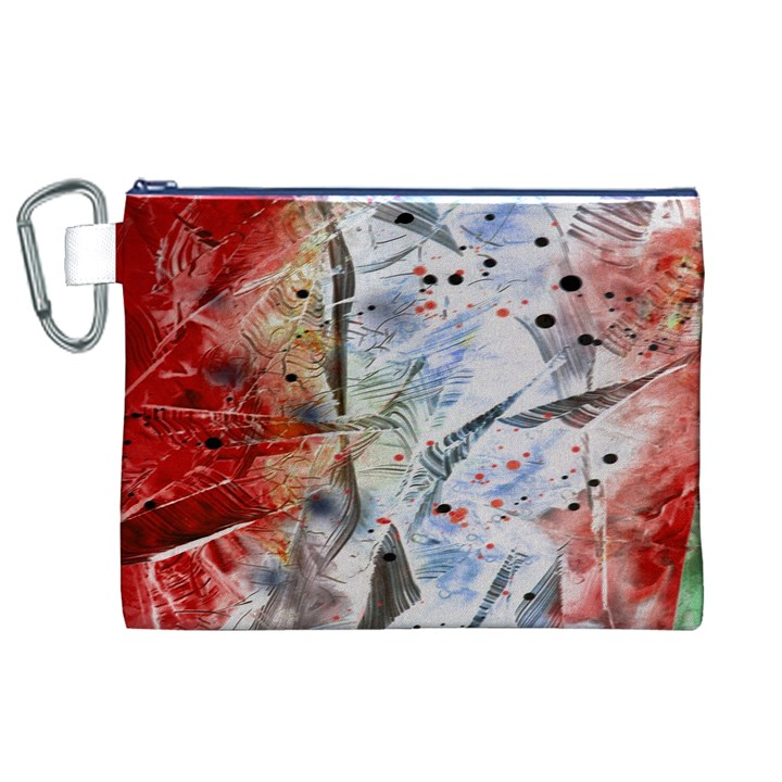Abstract design Canvas Cosmetic Bag (XL)