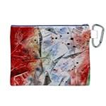 Abstract design Canvas Cosmetic Bag (XL) Back