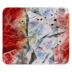 Abstract design Double Sided Flano Blanket (Small)