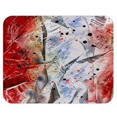 Abstract design Double Sided Flano Blanket (Medium)