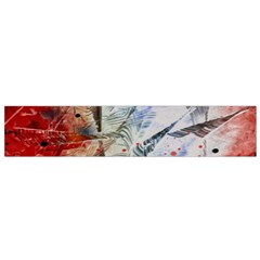 Abstract design Flano Scarf (Small)