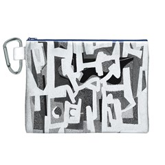 Abstract art Canvas Cosmetic Bag (XL)