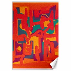 Abstract art Canvas 24  x 36