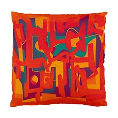 Abstract art Standard Cushion Case (One Side)