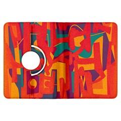 Abstract art Kindle Fire HDX Flip 360 Case