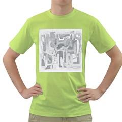 Abstract art Green T-Shirt
