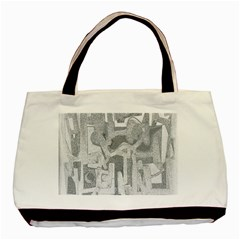 Abstract art Basic Tote Bag