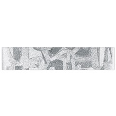 Abstract art Flano Scarf (Small)