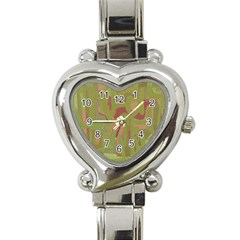Abstract art Heart Italian Charm Watch