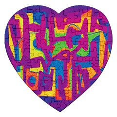 Abstract art Jigsaw Puzzle (Heart)