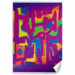 Abstract Art Canvas 12  X 18