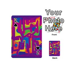 Abstract art Playing Cards 54 (Mini)
