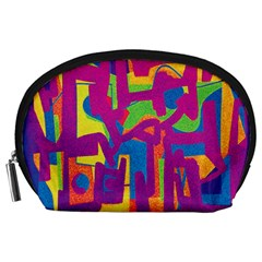 Abstract art Accessory Pouches (Large)