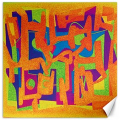 Abstract art Canvas 20  x 20
