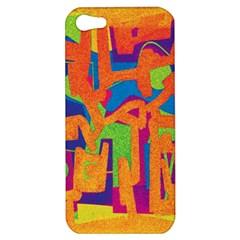 Abstract art Apple iPhone 5 Hardshell Case