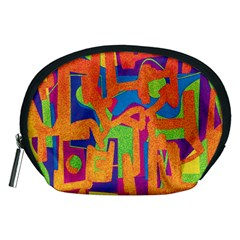 Abstract art Accessory Pouches (Medium)