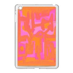 Abstract art Apple iPad Mini Case (White)