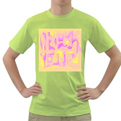 Abstract art Green T-Shirt