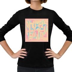 Abstract art Women s Long Sleeve Dark T-Shirts