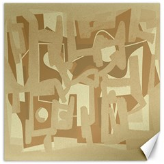 Abstract art Canvas 12  x 12